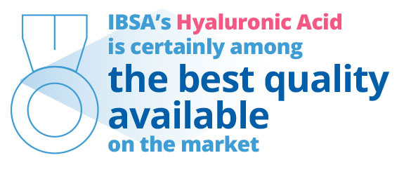 IBSA quality Hyaluronic acid