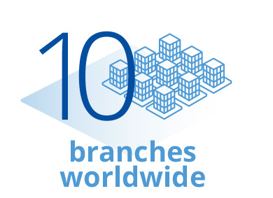 IBSA Group 10 branches worldwide